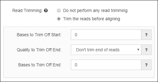 Read Trimming Options