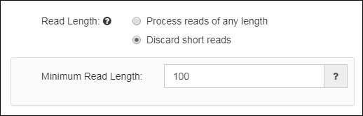 Read Length Threshold